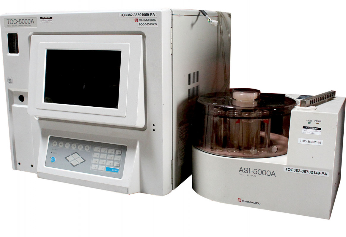 Used Shimadzu TOC-5000A / ASI-5000A for sale in USA - Kitmondo