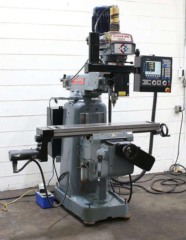 Used Clausing Kondia FV-1 for sale in USA - Kitmondo