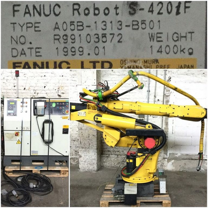 Used Fanuc Robot S 420 if for sale in Germany - Kitmondo