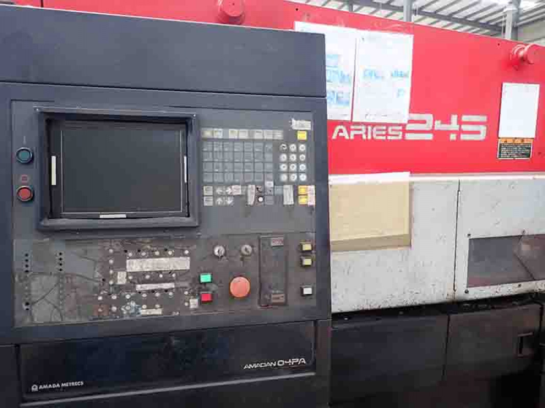 Used Amada Aries 245 CNC PUNCHING MA for sale in Hong Kong