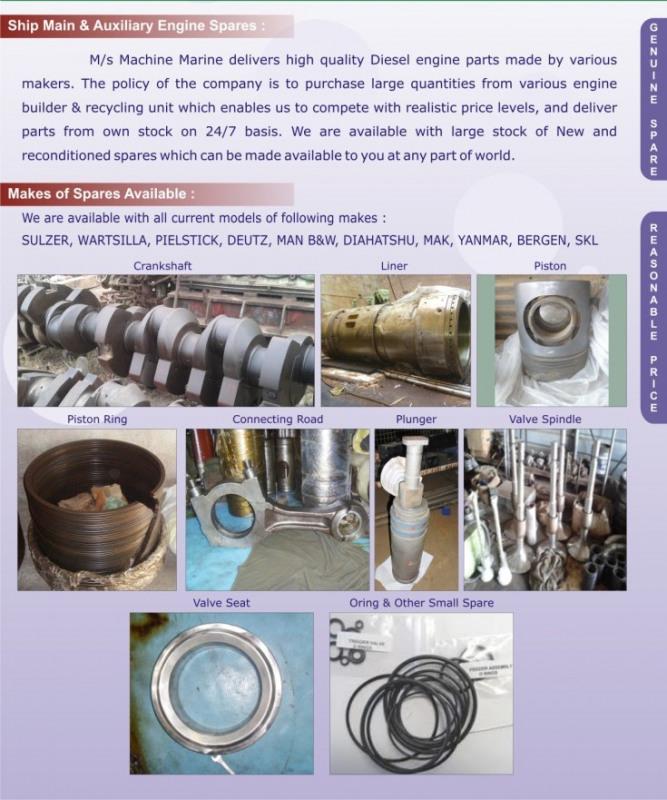 Used Used Wartsila,C Many More for sale in India - Kitmondo