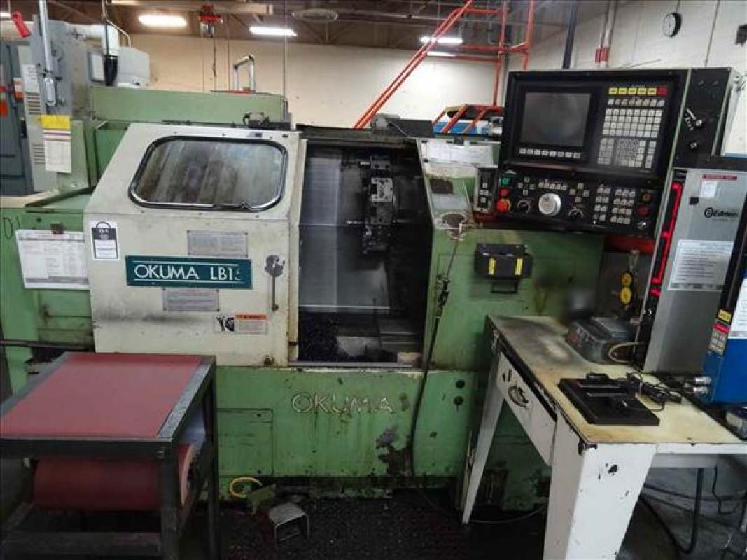 Used Okuma LB 15 CNC Lathe for sale in USA - Kitmondo