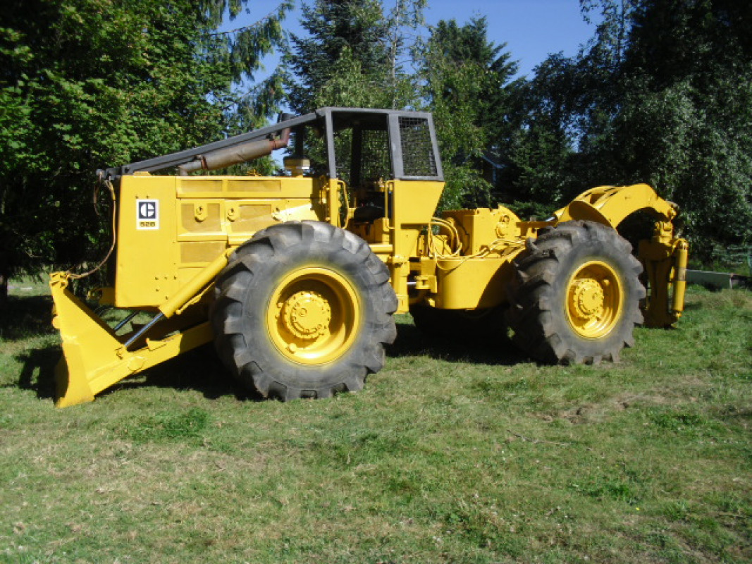 Used Caterpillar 528 Log Skidder for sale in USA - Kitmondo
