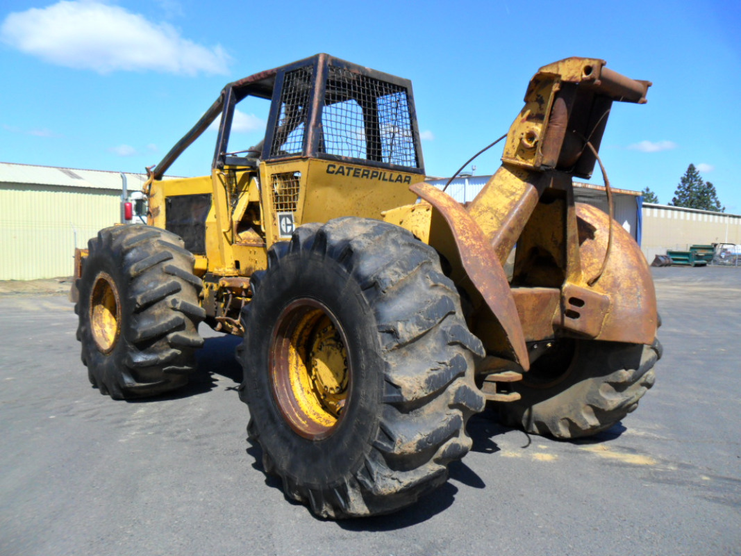 Used Caterpillar 518 Log Skidder for sale in USA - Kitmondo